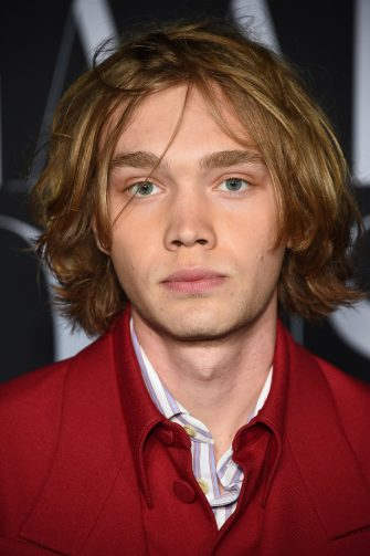 "NEW YORK, NEW YORK - SEPTEMBER 06: Charlie Plummer attends as Harper's BAZAAR celebrates ""ICONS By Carine Roitfeld"" at The Plaza Hotel presented by Cartier - Arrivals on September 06, 2019 in New York City. (Photo by Dimitrios Kambouris/Getty Images for Harper's BAZAAR )"