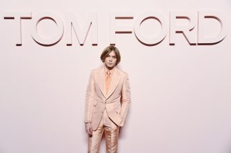 NEW YORK, NEW YORK - FEBRUARY 06: Charlie Plummer attends the Tom Ford FW 2019 - Arrivals - New York Fashion Week: The Shows on February 06, 2019 in New York City. (Photo by Nicholas Hunt/Getty Images)
