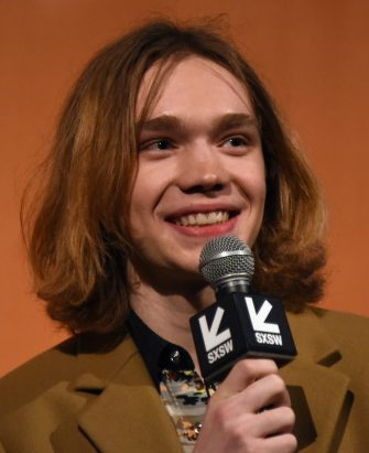 "AUSTIN, TX - MARCH 09:  Actor Charlie Plummer speaks onstage at the premiere of ""Lean on Pete"" during SXSW at Alamo Lamar on March 9, 2018 in Austin, Texas.  (Photo by Dave Pedley/Getty Images for SXSW)"