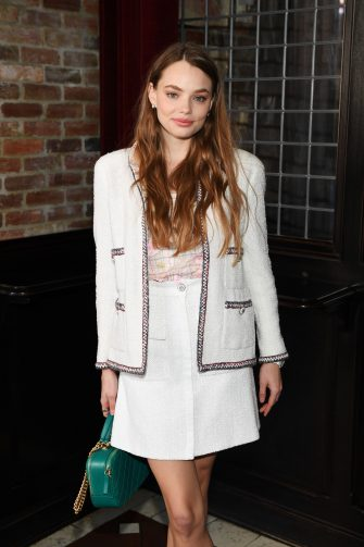 NEW YORK, NEW YORK - NOVEMBER 04: Kristine Froseth, wearing Chanel, attends Through Her Lens: The Tribeca CHANEL Women's Filmmaker Program Luncheon at Locanda Verde on November 04, 2019 in New York City. (Photo by Dimitrios Kambouris/WireImage )