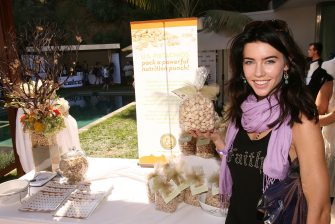 Actress Jacqueline MacInnes Wood attends the Kari Feinstein Emmy Style Lounge at a private residence on September 18, 2008 in Los Angeles, California. (Photo by Jesse Grant/WireImage)