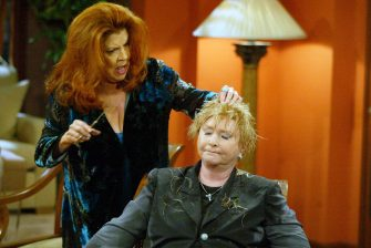 """Susan Flannery and Darlene Conley""""The Bold and the Beautiful"""" SetCBS Television City8/19/03©Aaron Montgomery/JPI310-657-9661Episode# 4131"""