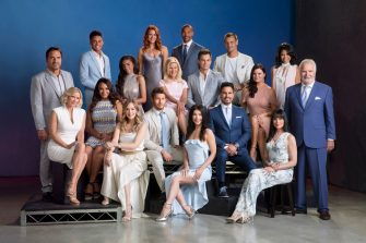 The 2018 cast of the CBS daytime series THE BOLD AND THE BEAUTIFUL airing weekdays (1:30-2:00 PM, ET; 12:30-1:00 PM, PT) on the CBS Television Network. Photo: Cliff Lipson/CBS ©2018 CBS Broadcasting Inc. All Rights Reserved.
