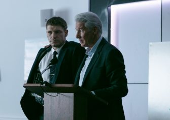 Picture Shows:  Caden (BILLY HOWLE), Max (RICHARD GERE)