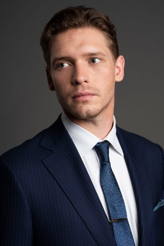 Picture Shows:  Caden (BILLY HOWLE)