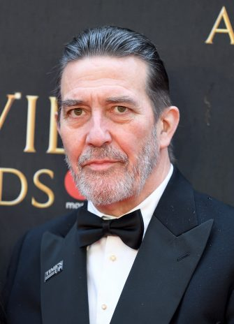 LONDON, ENGLAND - APRIL 08:  Ciaran Hinds attends The Olivier Awards with Mastercard at Royal Albert Hall on April 8, 2018 in London, England.  (Photo by Karwai Tang/WireImage)