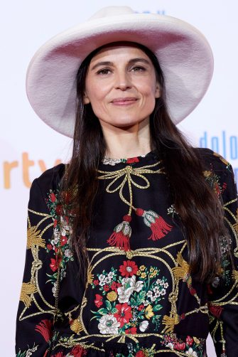 MADRID, SPAIN - MARCH 13:  Elena Anaya attends 'Dolor y Gloria' premiere at the Capitol cinema on March 13, 2019 in Madrid, Spain. (Photo by Carlos Alvarez/Getty Images)