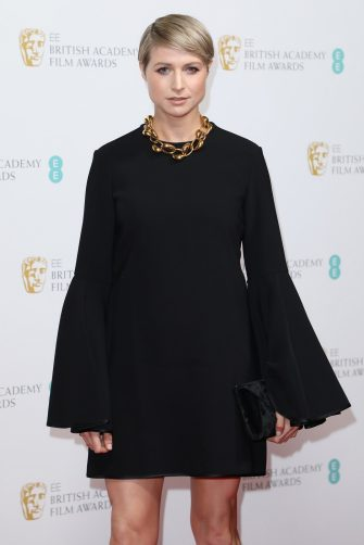 LONDON, ENGLAND - FEBRUARY 01: Niamh Algar attends the EE British Academy Film Awards 2020 Nominees' Party at Kensington Palace on February 01, 2020 in London, England. (Photo by Lia Toby/Getty Images)