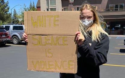 Black Lives Matter: Sophie Turner alla protesta