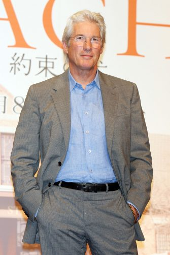 """TOKYO - JULY 08:  Actor Richard Gere attends the """"Hachiko: A Dog's Story"""" press conference at the Peninsula Tokyo on July 8, 2009 in Tokyo, Japan.  (Photo by Junko Kimura/Getty Images)"""