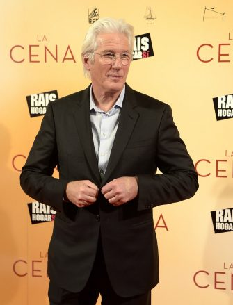 MADRID, SPAIN - DECEMBER 11:  Richard Gere attends the 'La Cena' (The Dinner) premiere at the Capitol cinema on December 11, 2017 in Madrid, Spain.  (Photo by Fotonoticias/WireImage)