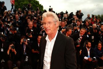 VENICE, ITALY - SEPTEMBER 04:  Richard Gere attends the I'm Not There Premiere in Venice during day 7 of the 64th Venice Film Festival on September 4, 2007 in Venice, Italy.  (Photo by Jeff Vespa/WireImage)