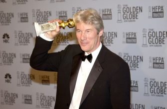 Richard Gere during The 60th Annual Golden Globe Awards - Press Room at The Beverly Hilton Hotel in Beverly Hills, California, United States. (Photo by KMazur/WireImage)