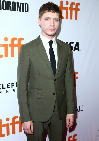 """TORONTO, ON - SEPTEMBER 06:  Billy Howle attends the """"Outlaw King"""" TIFF 2018 opening night red carpet on September 6, 2018 in Toronto, Canada.  (Photo by Rich Fury/Getty Images for Netflix)"""
