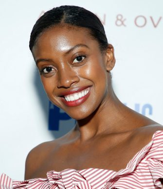 "NEW YORK, NEW YORK - JUNE 11:  Condola Rashad attends ""Much Ado"" opening night at Delacorte Theater on June 11, 2019 in New York City. (Photo by John Lamparski/Getty Images)"