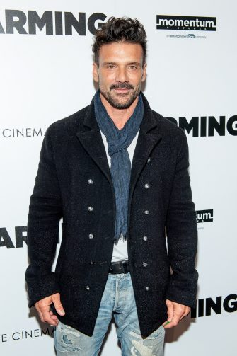 "NEW YORK, NEW YORK - OCTOBER 22: Frank Grillo attends ""Farming"" New York Screening at Village East Cinema on October 22, 2019 in New York City. (Photo by Roy Rochlin/Getty Images)"