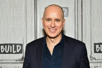 "NEW YORK, NY - JUNE 06:  (EXCLUSIVE COVERAGE) Actor Kelly AuCoin visits Build Series to discuss a new Off-Broadway's drama ""Long Lost"" and a Season 4 of Showtime's ""Billions"" at Build Studio on June 6, 2019 in New York City.  (Photo by Slaven Vlasic/Getty Images)"