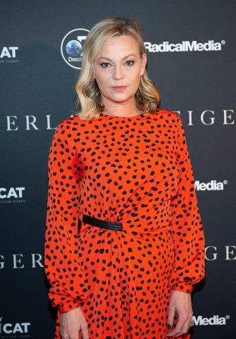 "NEW YORK, NEW YORK - MARCH 27:  Actress Samantha Mathis attends the ""Tigerland"" New York Screening at Crosby Street Hotel on March 27, 2019 in New York City. (Photo by Mark Sagliocco/Getty Images)"