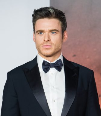 "LONDON, ENGLAND - DECEMBER 04: Richard Madden attends the ""1917"" World Premiere and Royal Performance at Odeon Luxe Leicester Square on December 04, 2019 in London, England. (Photo by Samir Hussein/WireImage)"