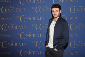 "MEXICO CITY, MEXICO - MARCH 06:  Actor Richard Madden attends a photocall to promote the new film ""Cinderella"" at Four Seasons Hotel on March 6, 2015 in Mexico City, Mexico.  (Photo by Victor Chavez/WireImage)"