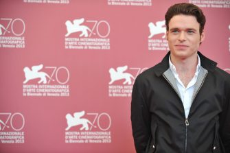 "Scottish actor Richard Madden poses during the photocall of ""Une Promesse"" presented out of competition at the 70th Venice Film Festival on September 4, 2013 at Venice Lido.     AFP PHOTO / TIZIANA FABI        (Photo credit should read TIZIANA FABI/AFP via Getty Images)"