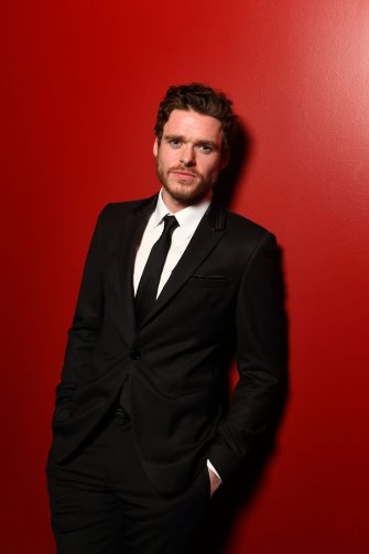 LONDON, ENGLAND - FEBRUARY 06:  (EXCLUSIVE COVERAGE) Richard Madden poses in the portrait studio at the Pre-Bafta party hosted by EE and Esquire ahead of the 2013 EE British Academy Film Awards at The Savoy Hotel on February 6, 2013 in London, England.  (Photo by Mike Marsland/WireImage)