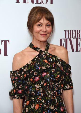 """LONDON, ENGLAND - APRIL 12:  Helen McCrory attends a special screening of """"Their Finest"""" at the BFI Southbank on April 12, 2017 in London, England.  (Photo by David M Benett/Dave Benett/Getty Images)"""