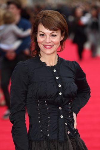 WATFORD, ENGLAND - MARCH 31:  Helen McCrory attends the grand opening of Warner Bros Studio Tour London at Leavesden Studios on March 31, 2012 in Watford, England.  (Photo by Mike Marsland/WireImage)