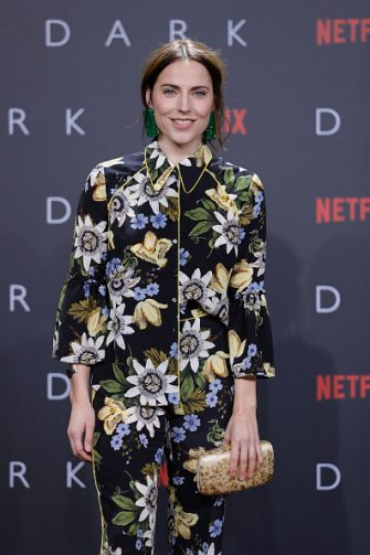 BERLIN, GERMANY - NOVEMBER 20:  Antje Traue attends the premiere of the first German Netflix series 'Dark' at Zoo Palast on November 20, 2017 in Berlin, Germany.  (Photo by Andreas Rentz/Getty Images for Netflix)