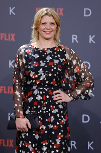 BERLIN, GERMANY - NOVEMBER 20:  Joerdis Triebel attends the premiere of the first German Netflix series 'Dark' at Zoo Palast on November 20, 2017 in Berlin, Germany.  (Photo by Andreas Rentz/Getty Images for Netflix)