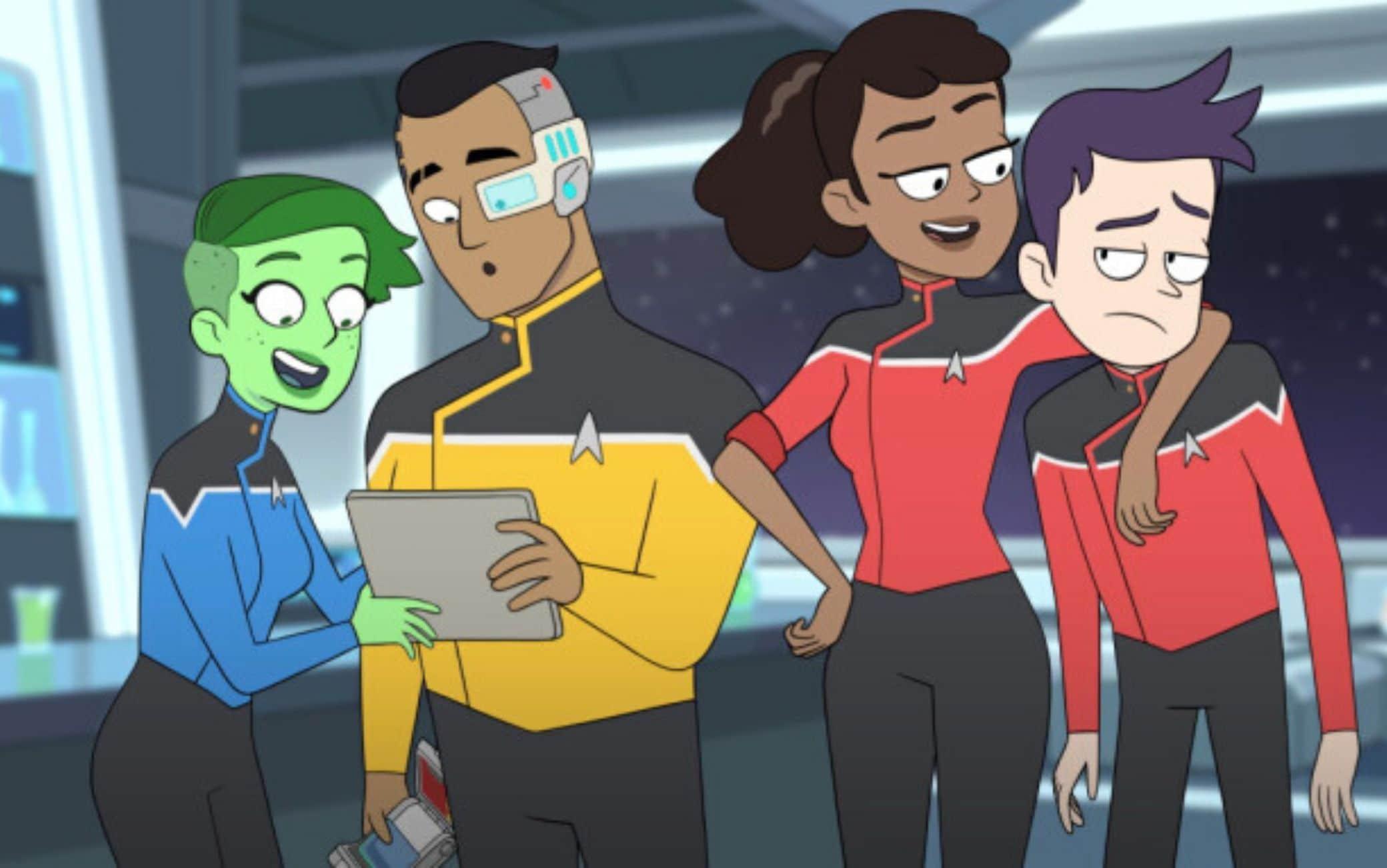Il trailer di Lower Decks, la serie animata comica di Star Trek
