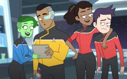 Il trailer di Lower Decks, la serie animata comica di Star Trek