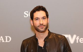 """ATLANTA, GA - FEBRUARY 07:  Actor Tom Ellis attends """"Lucifer"""" event during aTVfest 2016 presented by SCAD on February 7, 2016 in Atlanta, Georgia.  (Photo by Catrina Maxwell/Getty Images for SCAD)"""
