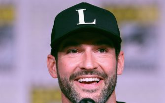 """SAN DIEGO, CA - JULY 20:  Tom Ellis attends Entertainment Weekly """"Brave Warriors"""" panel during San Diego Comic-Con 2018 at the San Diego Convention Center on July 20, 2018 in San Diego, California.  (Photo by Joe Scarnici/Getty Images for Entertainment Weekly)"""
