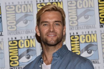 New Zealand actor Antony Starr attends The Boys press line at the Hilton during Comic Con in San Diego, California on July 19, 2019. (Photo by Chris Delmas / AFP)        (Photo credit should read CHRIS DELMAS/AFP via Getty Images)