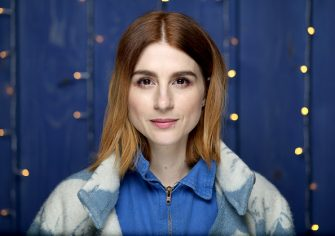 PARK CITY, UTAH - JANUARY 24: Aya Cash of 'Scare Me' attends the IMDb Studio at Acura Festival Village on location at the 2020 Sundance Film Festival â   Day 1 on January 24, 2020 in Park City, Utah. (Photo by Rich Polk/Getty Images for IMDb)