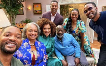 Willy, il principe di Bel-Air: Will Smith posta la foto della reunion