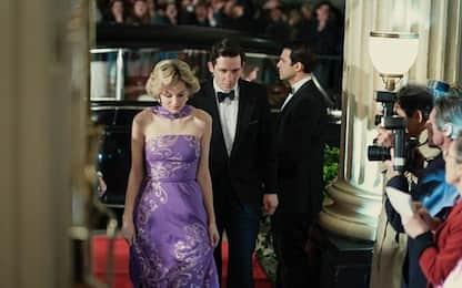 The Crown, le prime foto della stagione 4: Emma Corrin sarà Lady Diana