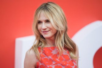 LONDON, ENGLAND - JULY 08:  Holly Hunter attends the 'Incredibles 2' UK premiere at BFI Southbank on July 8, 2018 in London, England.  (Photo by Samir Hussein/WireImage)