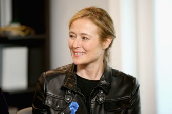 PARK CITY, UT - JANUARY 21:  Actor Jennifer Ehle of 'The Miseducation of Cameron Post' attends The IMDb Studio and The IMDb Show on Location at The Sundance Film Festival on January 21, 2018 in Park City, Utah.  (Photo by Rich Polk/Getty Images for IMDb)