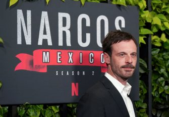 """LOS ANGELES, CALIFORNIA - FEBRUARY 06:  Scoot McNairy attends the """"Narcos: Mexico"""" Season 2 at Netflix Home Theater on February 06, 2020 in Los Angeles, California. (Photo by Jemal Countess/WireImage)"""