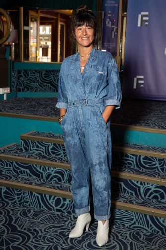 """PARIS, FRANCE - SEPTEMBER 17: Actress Romane Bohringer attends the """"Ils Etaient Dix"""" : Photocall At Festival Fiction De La Rochelle At Folies Bergeres on September 17, 2020 in Paris, France. (Photo by Marc Piasecki/WireImage)"""