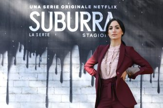 """ROME, ITALY - FEBRUARY 20: Cristina Pelliccia attends a photocall for Netflix """"Suburra"""" The Series, season 2 at Casa del Cinema on February 20, 2019 in Rome, Italy. (Photo by Elisabetta Villa/Getty Images for Netflix)"""
