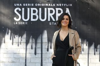 """ROME, ITALY - FEBRUARY 20: Rosa Diletta Rossi attends a photocall for Netflix """"Suburra"""" The Series, season 2 at Casa del Cinema on February 20, 2019 in Rome, Italy. (Photo by Elisabetta Villa/Getty Images for Netflix)"""