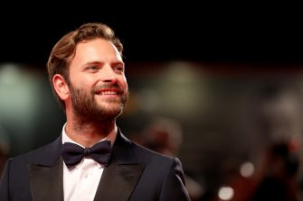 """VENICE, ITALY - SEPTEMBER 01: Alessandro Borghi walks the red carpet ahead of the """"Wasp Network"""" screening during the 76th Venice Film Festival at Sala Grande on September 01, 2019 in Venice, Italy. (Photo by Tristan Fewings/Getty Images)"""