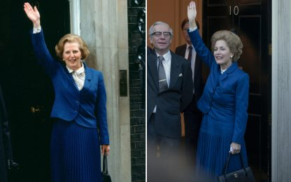 The Crown, Margaret Thatcher e Gillian Anderson: i look