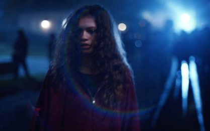 Euphoria, Zendaya presenta il poster del primo episodio speciale