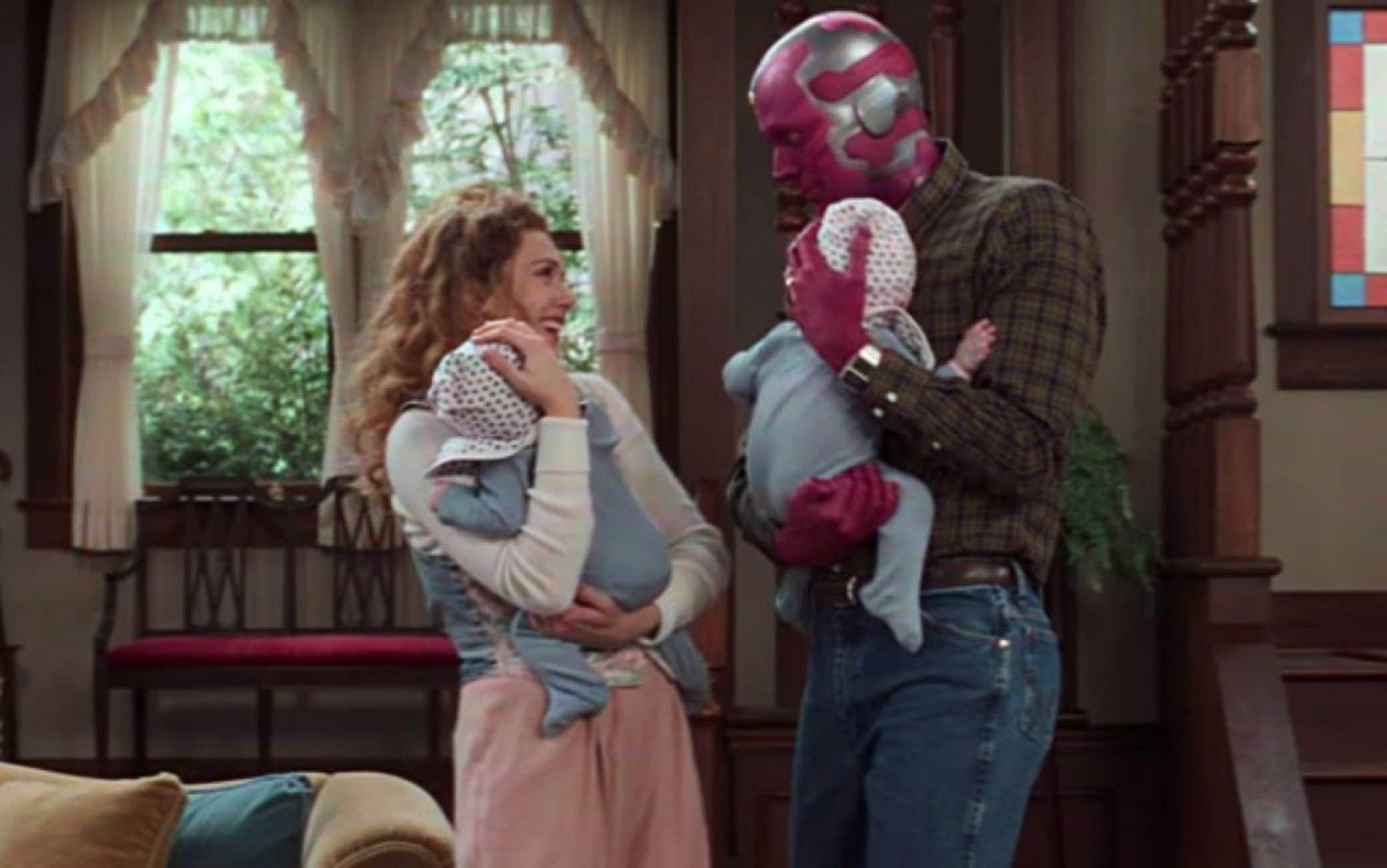 WandaVision, la prima clip della serie TV Marvel. VIDEO