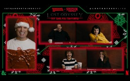 Stranger Things, il cast gioca a Dungeons & Dragons. VIDEO
