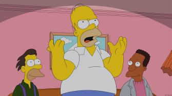 """THE SIMPSONS: Homer has a plan to make going to the movies fun again in the all-new """"Steal This Episode"""" episode of THE SIMPSONS airing Sunday, Jan. 5 (8:00-8:30 PM ET/PT) on FOX.  THE SIMPSONS ª and © 2014 TCFFC ALL RIGHTS RESERVED."""